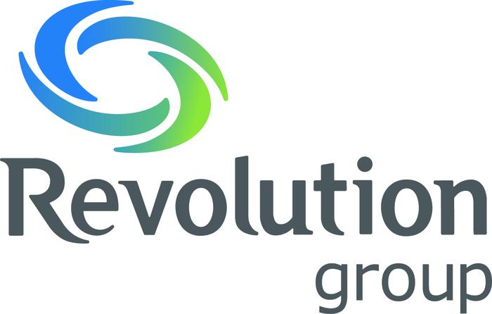 Revolution Logo Vertical Color